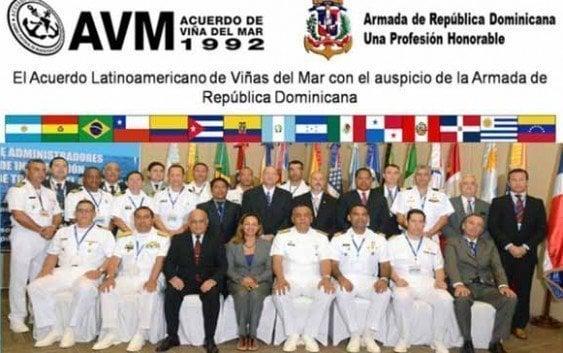Armada inaugura XXII Reunión Acuerdo Latinoamericano Viña Del Mar