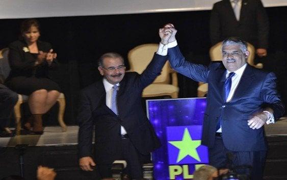 Danilo y Miguel cierran acuerdo PLD-PRD