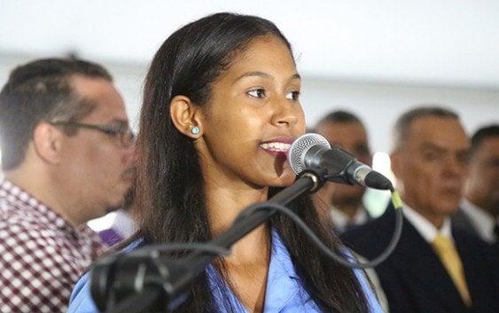 Gobierno inaugura tres escuelas municipio Esperanza