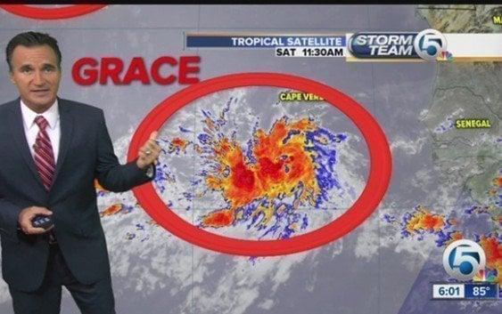 Tormenta tropical Grace se forma en el Atlántico