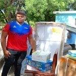 Gobierno envía mobiliario para casa medallista panamericano