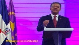 Leonel ratifica que la Constitución pone límites al poder