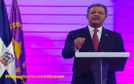 Leonel apoya propuesta de Danilo sobre Ley de Partidos