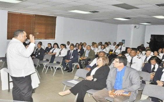 Imparten taller Procedimiento de Control Migratorio