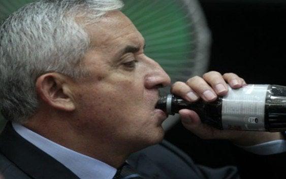 Pérez Molina niega ser miembro grupo de defraudación fiscal