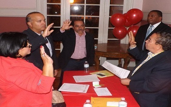 Juramentan Sandino González nuevo presidente filial PRSC Miami