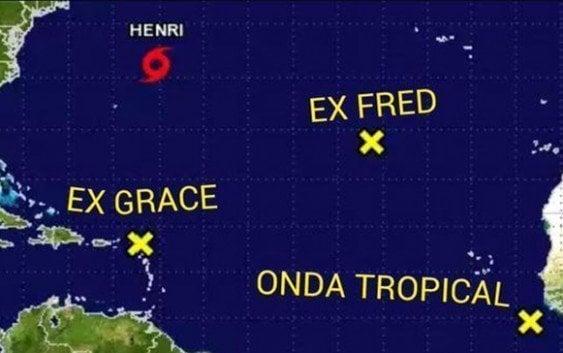 La Onamet mantiene Alerta Meteorológica; Racionalizar el agua