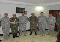 Dirección ERD recibe visita miembros ejercito USA