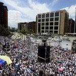 Venezuela: Oposición marcha unida; Apoyo a López y contra dictadura