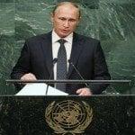 Vladimir Putin advierte ante ONU debe crearse coalición contra pandilla de asesinos