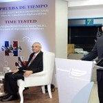 Banreservas presenta libro de periodista y embajador Virgilo Alcántara
