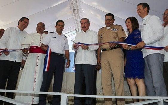Presidente inaugura cuartel CESTUR Sosúa, Puerto Plata