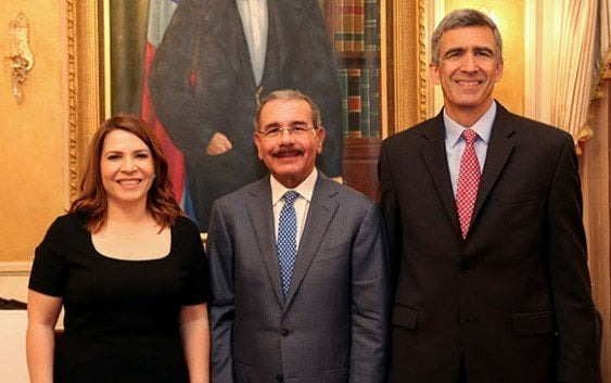 Presidente recibe ejecutivos de Copa Airlines