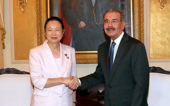 Danilo Medina recibe delegación Comisión Cámara Representantes Japón