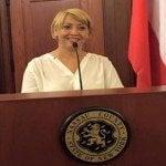 Elida Almonte propone plan para dominicanos en el exterior