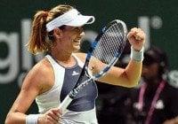 Muguruza le gana a Safarova en Singapur