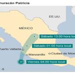 Huracán Patricia amenaza México con «consecuencias potencialmente catastróficas»