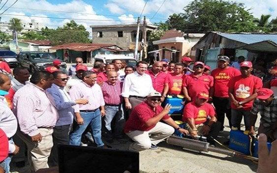 Ito Bisonó continúa jornadas contra el dengue