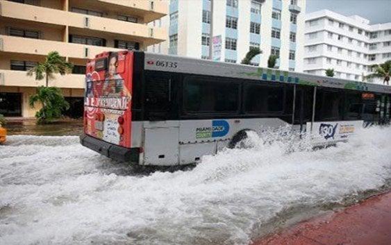 Aumento nivel del mar sumergirá a Miami y Nueva Orleans