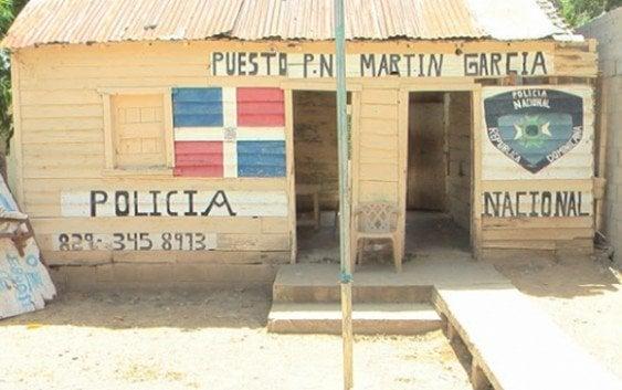 Destacamento PN Martín García, Guayubín a punto colapsar