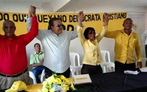 PQDC juramenta en Sabana Perdida