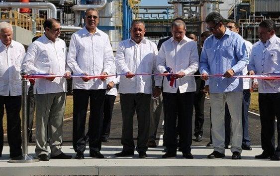Presidente re-inaugura Refinería Dominicana de Petróleo PDV