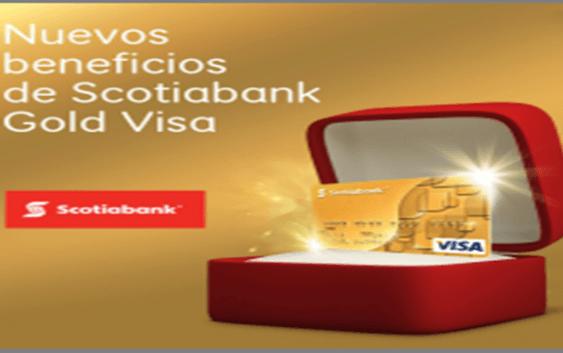 Scotiabank presenta nuevos beneficios tarjeta Scotiabank Gold Visa