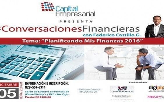 Ofrecerán conferencia sobre planificación financiera