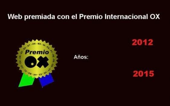 Fedosurf web gana Premio Internacional OX 2015