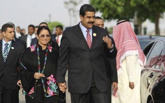 EE.UU. detiene por tráfico drogas dos familiares de Maduro en Haití