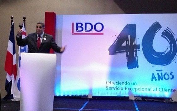 BDO brinda por 40 aniversario