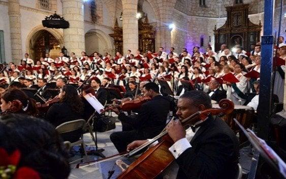 Cardenal invita al Concierto de Navidad hoy