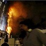 Hotel de lujo se incendia en Dubai; tras este gigantesca explosión