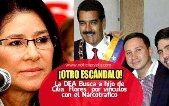 EE.UU. ordena captura hijo mayor esposa de Maduro