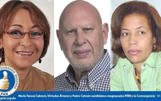 PRM anuncia nuevas candidaturas