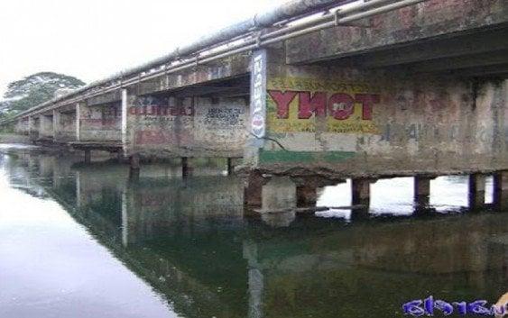 Denuncia podría colapsar el puente sobre el río Yuna