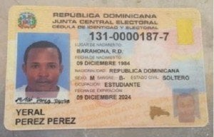 YERAL PEREZ...