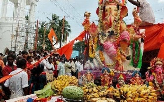 Hoy Festival de la Carroza desde La India