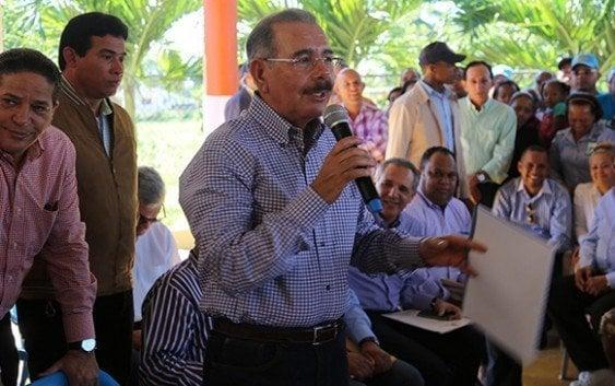 Danilo Medina afirma se acerca fin de los apagones