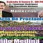 Presidente proclamará este sábado a Heinz Vieluf Cabrera