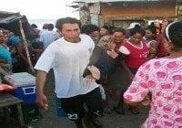 Sobrevivientes de naufragio en Nicaragua son trasladados a Managua