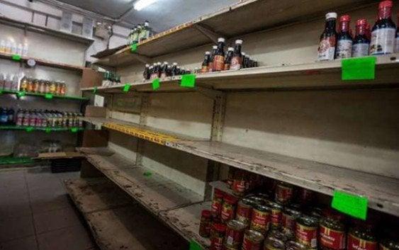 Chavistas tienen a Venezuela a las puertas de una hambruna