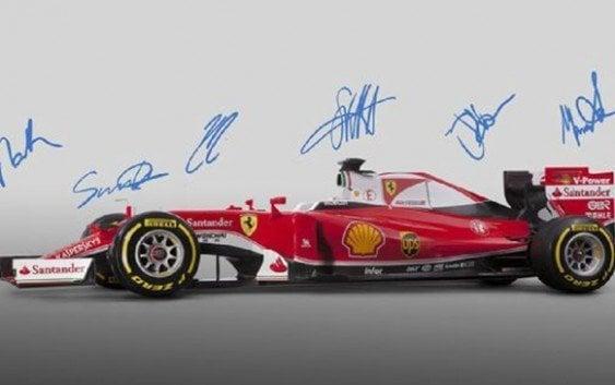 Ferrari presenta el nuevo monoplaza SF16-H