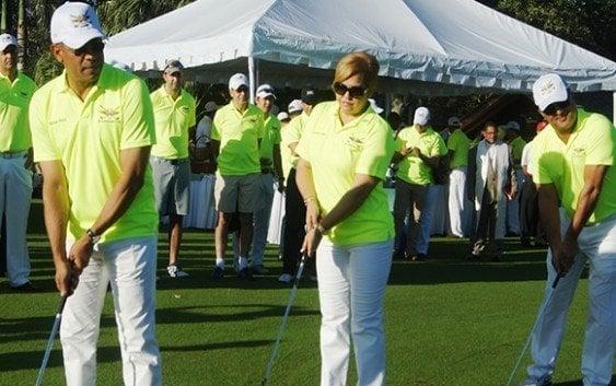 Muñoz y Genao conquistan V Torneo de Golf Benéfico del Ceofard