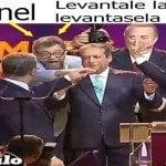 Vídeo; Leonel «levántale la mano»; Políticos o Payasos…???