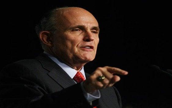 Ex-alcalde NY Rudolph Giuliani será asesor seguridad gobierno Luis Abinader