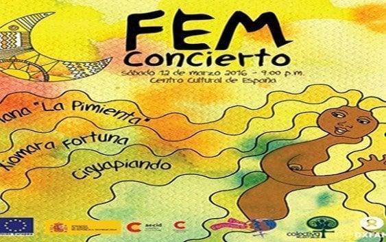 Concierto FEM en Centro Cultural de España