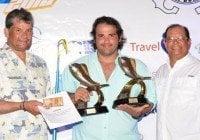 Luis Guerrero gana torneo de pesca El Dorado