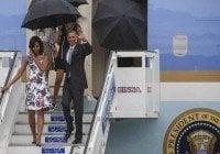 Barack Obama ya esta en Cuba