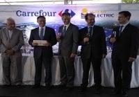 Carrefour pone en marcha planta solar más grande del país